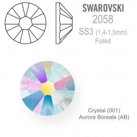 SWAROVSKI Crystal - AB  vel. SS3