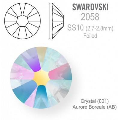SWAROVSKI Crystal AB vel. SS10