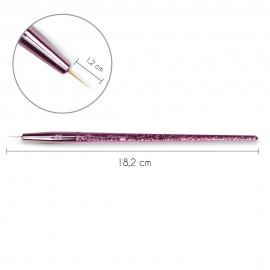 Štětec liner vel.0 - pink