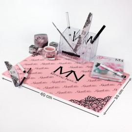Mystic Nails silikonová podkložka - pink