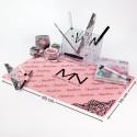 Mystic Nails silikonová podložka - pink
