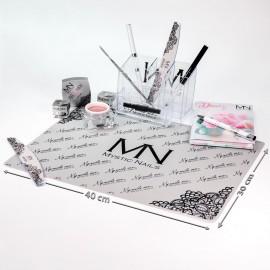 Mystic Nails silikonová podložka - šedá