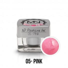 3D Plasticine Gel - 05. Pink  3,5g