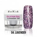 Glitter Gel - 04. Lavender 4g