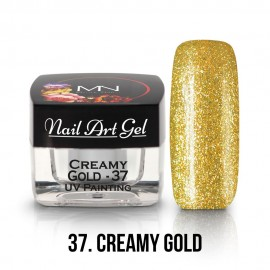UV Painting Nail Art Gel - 37 - Creamy Gold 4g