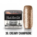 UV Painting Nail Art Gel - 39 - Creamy Champagne 4g