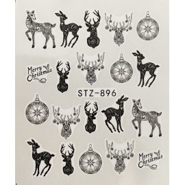 Vánoční vodolepky - 896