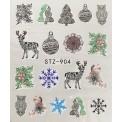 Vánoční vodolepky - 904