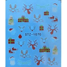 Vánoční vodolepky - 1070