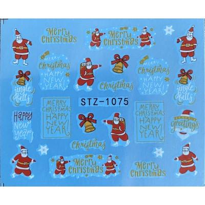 Vánoční vodolepky - 1075