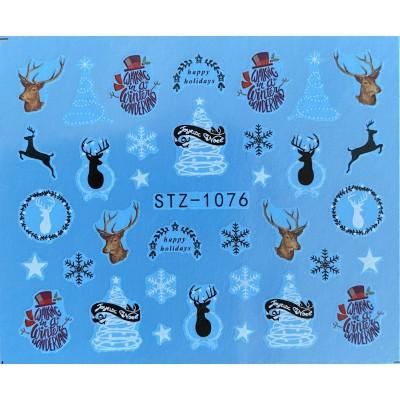 Vánoční vodolepky - 1076