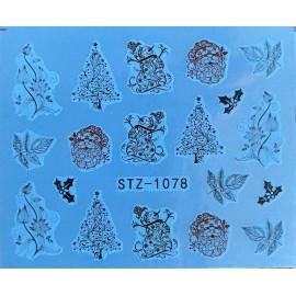 Vánoční vodolepky - 1078