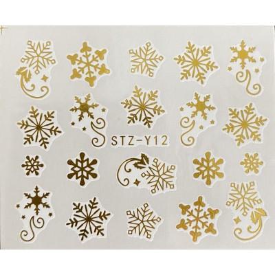 Vánoční vodolepky - GY12