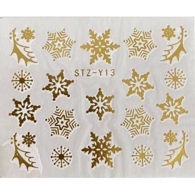 Vánoční vodolepky - GY13