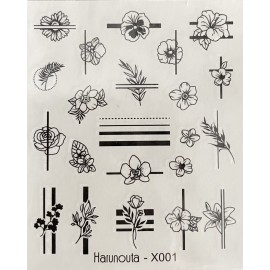 Vodolepky - X001