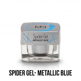 Spider Gel - metallic blue 4g