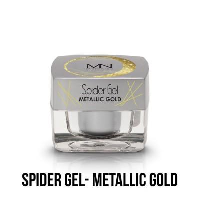 Spider Gel - metalická zlatá 4g