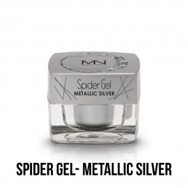 Spider Gel - metallic silver  4g