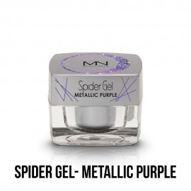 Spider Gel - metallic purple  4g