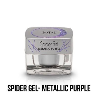 Spider Gel - metallic purple  4g
