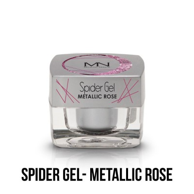 Spider Gel - metallic rose  4g