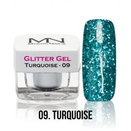 Glitter Gel - 09. Turquoise 4g