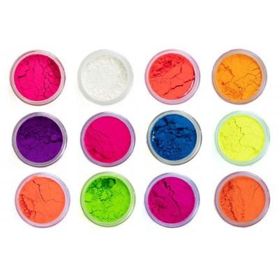 Sada neon pigmentů