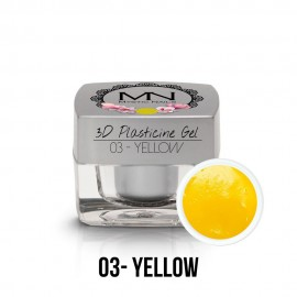 3D Plasticine Gel - 03. Yellow  3,5g