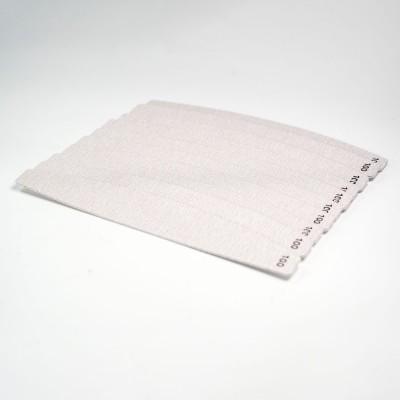 Eko papírové lepící pilníky - 100  (10ks)
