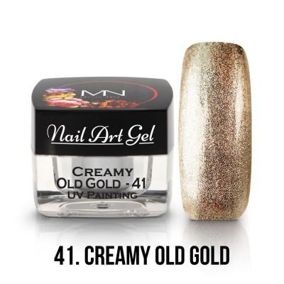 UV Painting Nail Art Gel - 41 - Creamy Old Gold 4g
