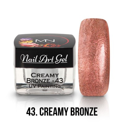 UV Painting Nail Art Gel - 43 - Creamy Bronze 4g