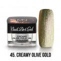 UV Painting Nail Art Gel - 45 - Creamy Olive Gold 4g