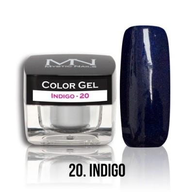 Color Gel - 20. Indigo