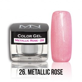 Color Gel - 26. Metallic Rose 4g