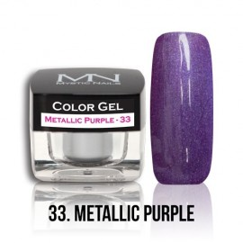 Color Gel - 33. Metallic Purple 4g