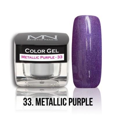 Color Gel - 33. Metallic Purple