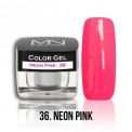 Color Gel - 36. Neon Pink
