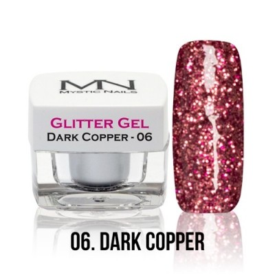 Glitter Gel - 06. Dark Copper