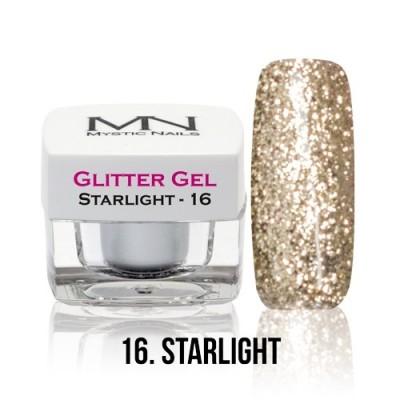 Glitter Gel - 16. Starlight - 4g