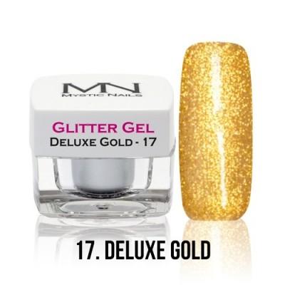 Glitter Gel - 17. Deluxe Gold - 4g