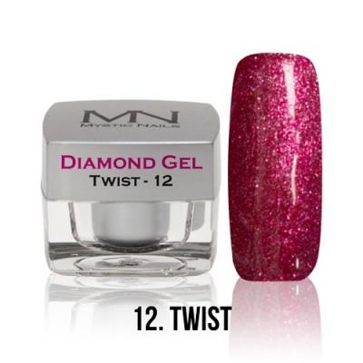 Diamond Gel - 12. Twist - 4g