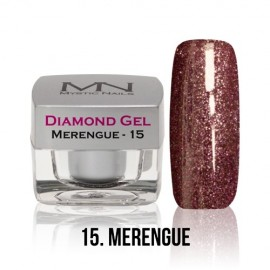 Diamond Gel - 15. Merengue 4g