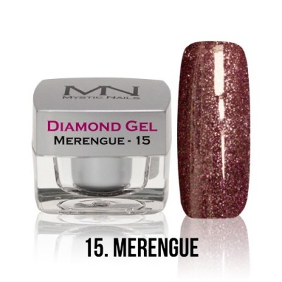 Diamond Gel - 15. Merengue - 4g