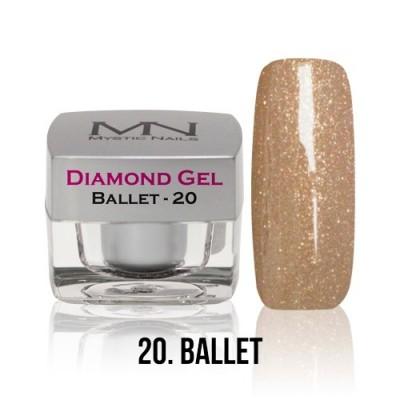 Diamond Gel - 20. Ballet - 4g