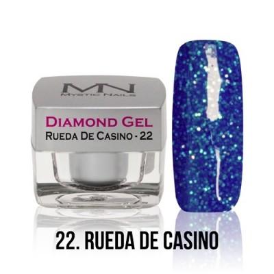 Diamond Gel - 22. Rueda de Casino - 4g