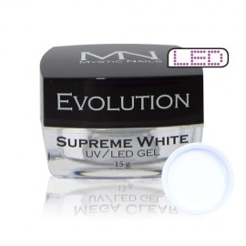 Evolution Supreme White Gel 15g - doprodej
