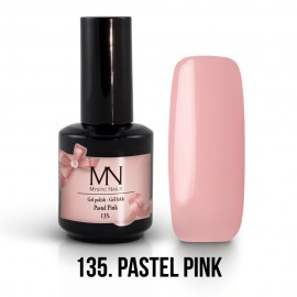 Gel lak - 135. Pastel Pink 12ml