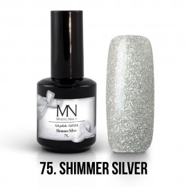 gel lak - 75. Shimmer Silver 12ml