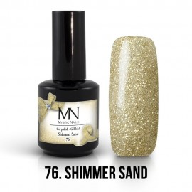 Gel lak - 76. Shimmer Sand 12ml