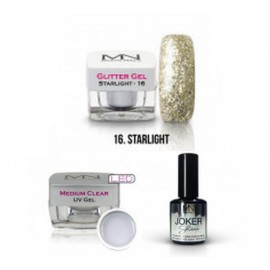 Glitter gel Starlight - sada č.4